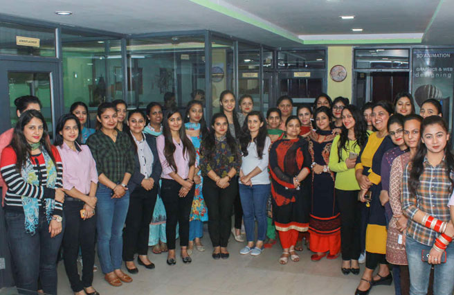 CELEBRATED THE DAY OF WOMEN EMPOWERMENT AT MORPH ACADEMY